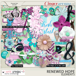 Renewed Hopes - Elements - by Neia Scraps