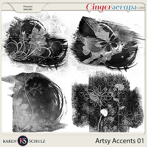 Artsy Accents 01 by Karen Schulz