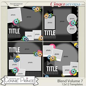 Blend Volume 7 - 12x12 Temps (CU Ok) by Connie Prince