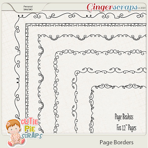 Page Borders 11 By Cutie Pie Scraps