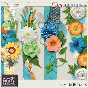 Lakeside Borders by Aimee Harrison