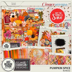 Pumpkin Spice Bundle by JB Studio and Aimee Harrison Designs