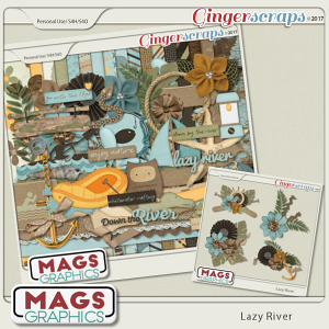 Lazy River KIT + CLUSTERS by MagsGraphics