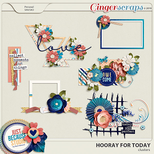 Hooray For Today Clusters by JB Studio