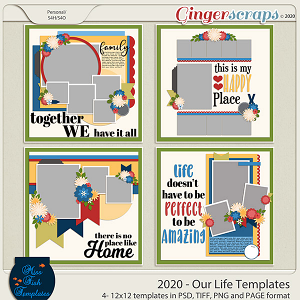 2020 Our Life Templates by Miss Fish