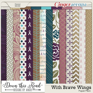 With Brave Wings Paper Pack