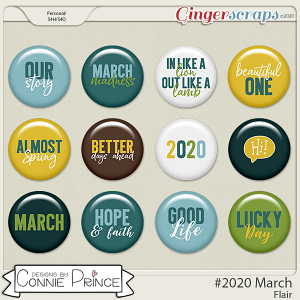 #2020 March - Flair Pack by Connie Prince