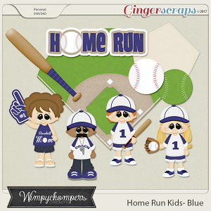 Home Run Kids- Blue