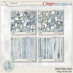 Winterland Mega Kit Bundle by Ilonka's Designs