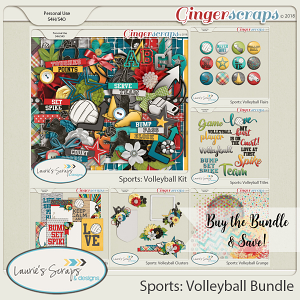 Sports: Volleyball Bundle