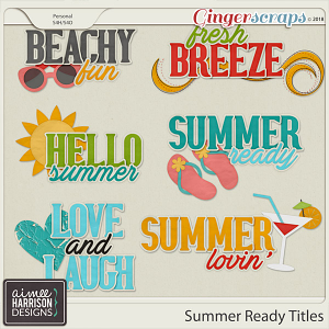 Summer Ready Titles by Aimee Harrison