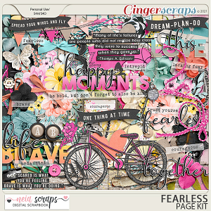 Fearless - Page Kit - by Neia Scraps