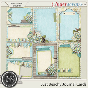 Just Beachy Journal and Pocket Scrapbooking Cards
