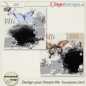 Design your Dream life Templates Set3