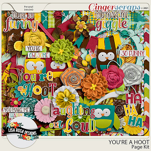 You're a Hoot - Page Kit by Lisa Rosa Designs