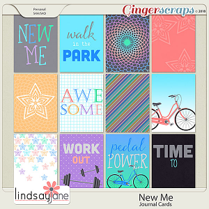 New Me Journal Cards by Lindsay Jane