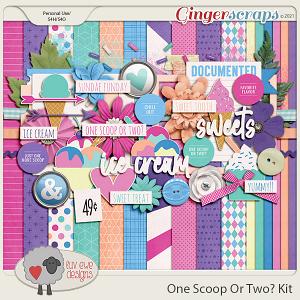 One Scoop Or Two Kit by Luv Ewe Designs