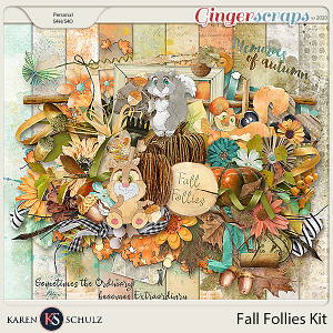 Fall Follies Kit by Snickerdoodle Designs