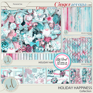 Holiday Happiness Collection by Ilonka's Designs