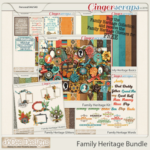 Family Heritage Bundle with FREE Cluster Pack