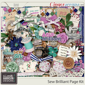 Sew Brilliant Page Kit by Aimee Harrison