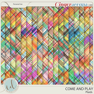 Come And Play Plaids by Ilonka's Designs