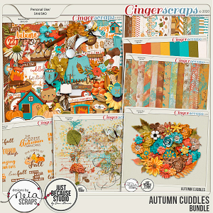Autumn Cuddles - Bundle - by Neia Scraps and JB Studio