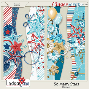 So Many Stars Borders by Lindsay Jane
