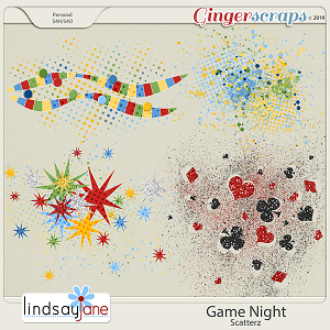 Game Night Scatterz by Lindsay Jane