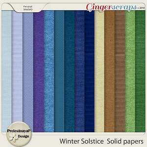 One World: Places to see snow Solid Papers