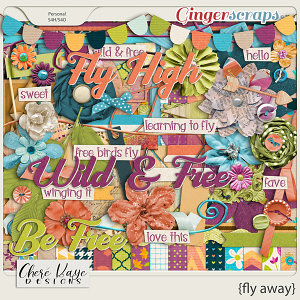 Fly Away by Chere Kaye Designs