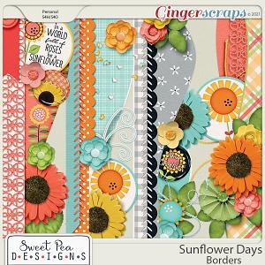 Sunflower Days Borders