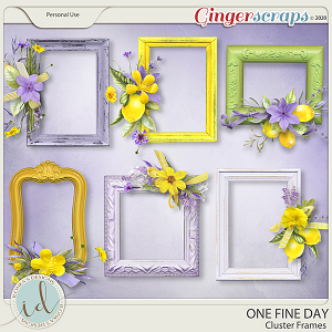 One Fine Day Cluster Frames by Ilonka's Designs