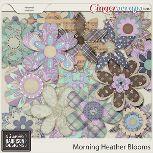 Morning Heather Blooms by Aimee Harrison
