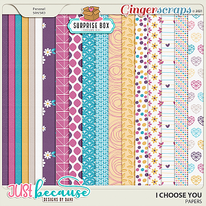 I Choose You Papers by JB Studio