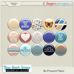 Be Present Flair Pack