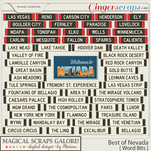 Best of Nevada (word bits)