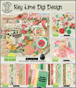 The Lost Art of... — Pen To Paper Collection by Key Lime Digi Design