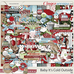 Baby It's Cold Outside Kit by JoCee Designs