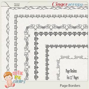 Page Borders 43 By Cutie Pie Scraps