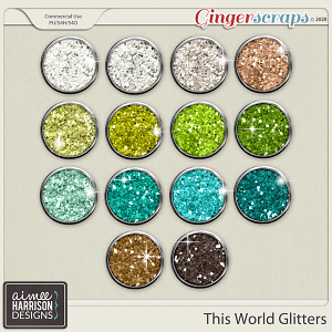 This World Glitters by Aimee Harrison