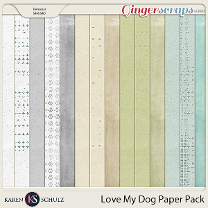 Love My Dog Bonus Papers by Karen Schulz