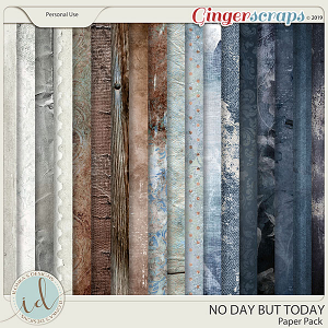 No Day But Today Paper Pack by Ilonka's Designs