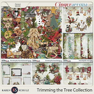 Trimming the Tree Collection by Karen Schulz