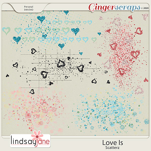 Love Is Scatterz by Lindsay Jane