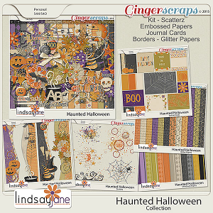 Haunted Halloween Collection by Lindsay Jane