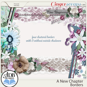 A New Chapter Borders by ADB Designs