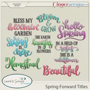 Spring Forward Titles