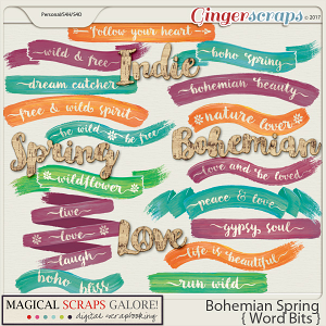 Bohemian Spring (word bits)