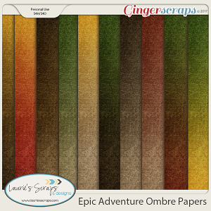 Epic Adventure Ombre Papers